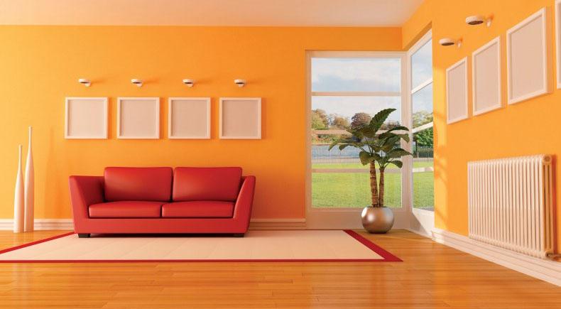 دکوراسیون داخلی رنگ خانه