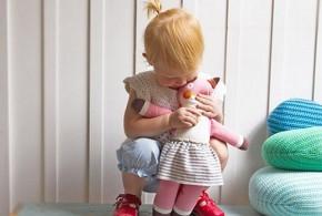 عروسک پارچه ای نوزاد