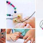 هنر آسان برای کودکان: مجسمهسازی با سیم
