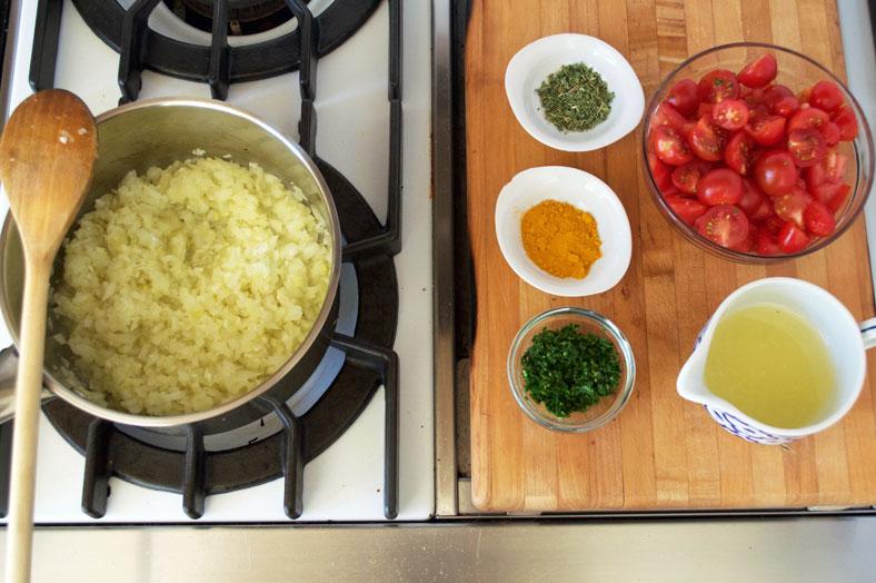 سس گوجه و سیر