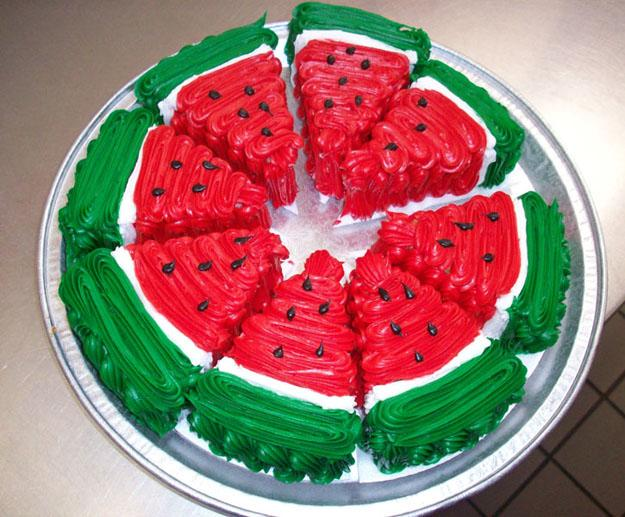 74 کیک هندوانه