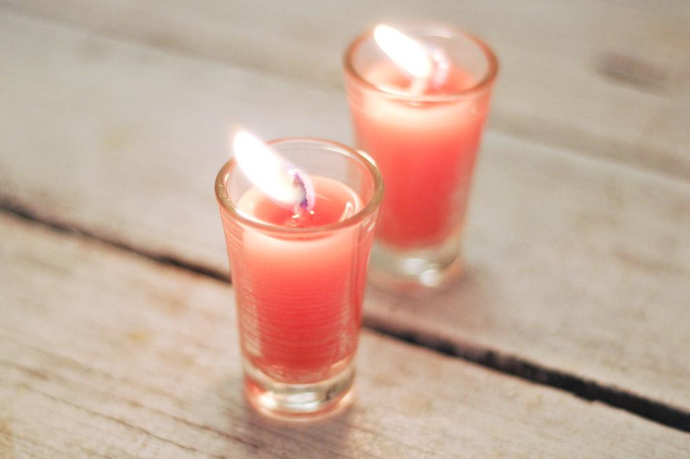 8 درستکردن شمعهای منحصربهفرد در خانه