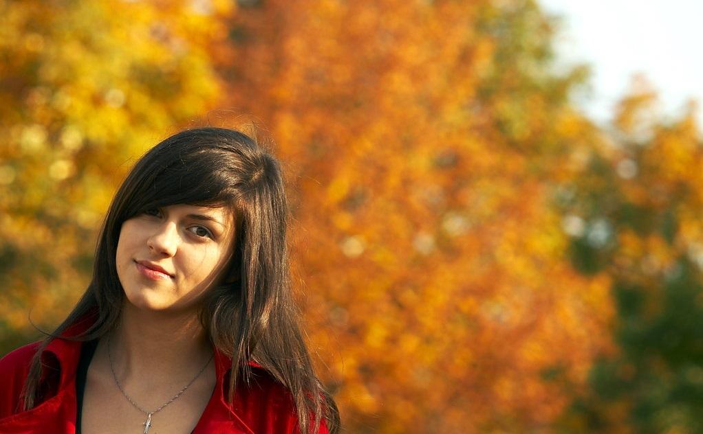 Girl of Autumn by mucha155pf رنگ موهای مناسب پاییز