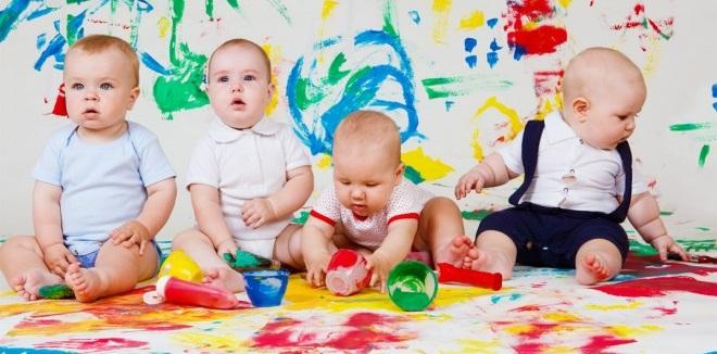 kids paint4 کودکان با نقاشی چه میگویند؟