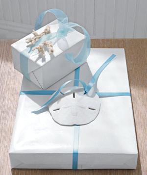 wrap sand dollar 300 پنج ایده خلاقانه برای تزئین و کادو کردن هدیهها